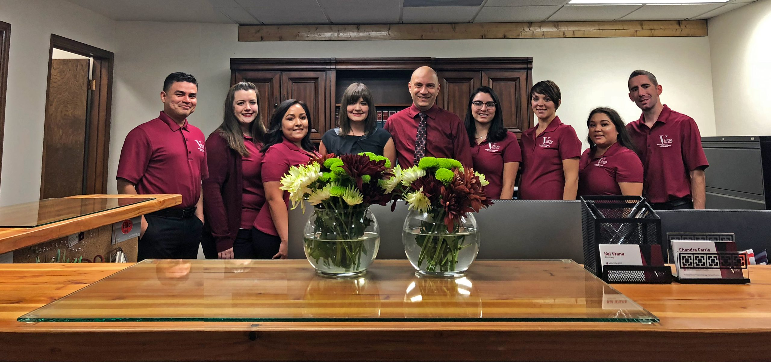 The Vrana Law Firm Team