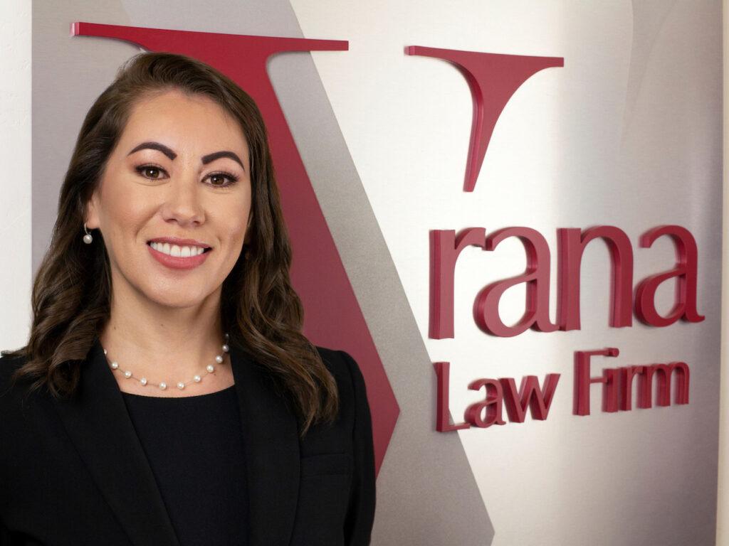 Jessica Tinoco personal injury attorney Vrana Law Firm